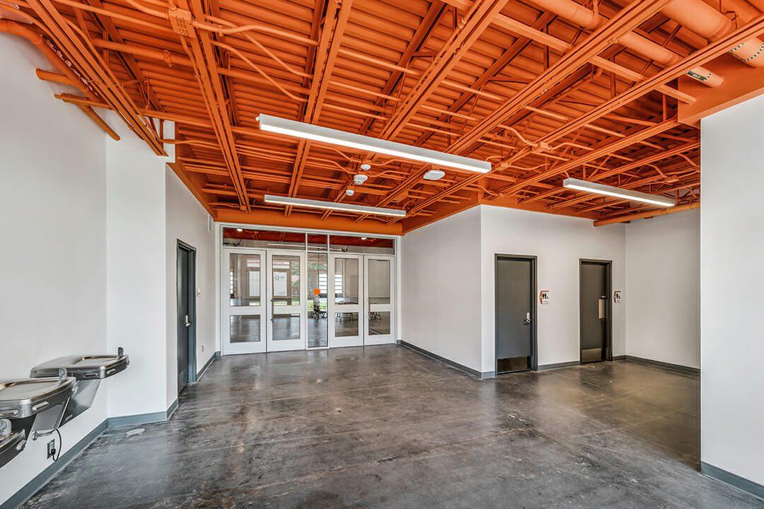image of Clemson Garrison Expo mezzanine