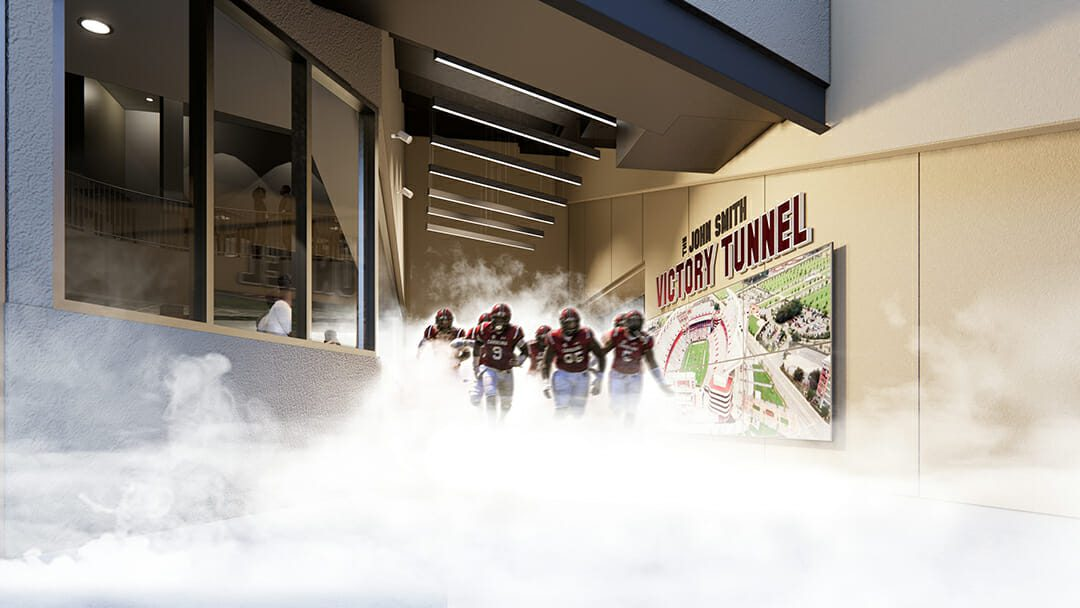 Williams-Brice-stadium-2001-Club-player-tunnel-exit